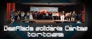 Desfilada solidària dels alumnes de 2on d'Integració Social matí.