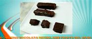 Bombons de xocolata amb fruits del bosc