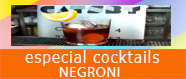 Especial cocktails Negroni