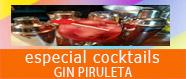 Especial cocktails Gin Piruleta