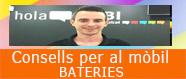 Consells per al manteniment de la bateria dels mòbils