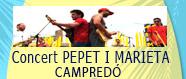 Concert Pepet i Marieta a Campredó