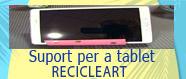 Suport per a tablet o mòbil