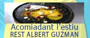 Tapa amb préssec i figues estil Albert Guzmán.